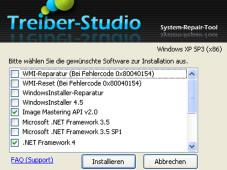 Treiber-Studio Reparaturprogramm©COMPUTER BILD