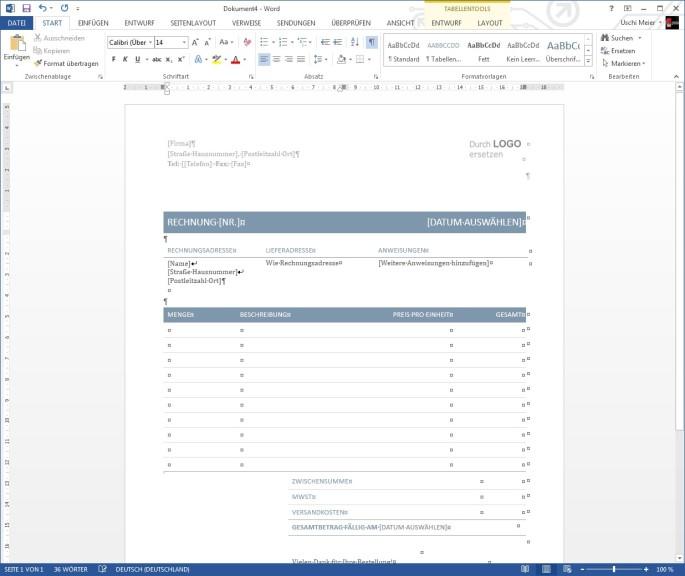 Word-Vorlagen - Download - COMPUTER BILD