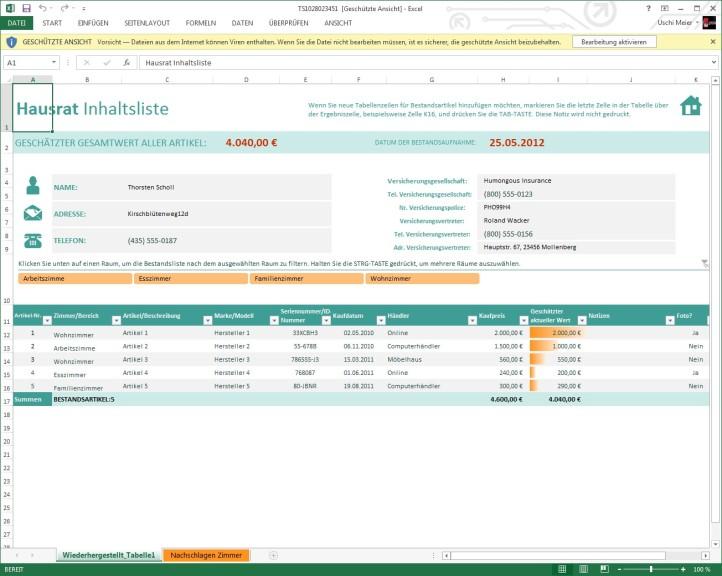 Excel Vorlagen Download Computer Bild