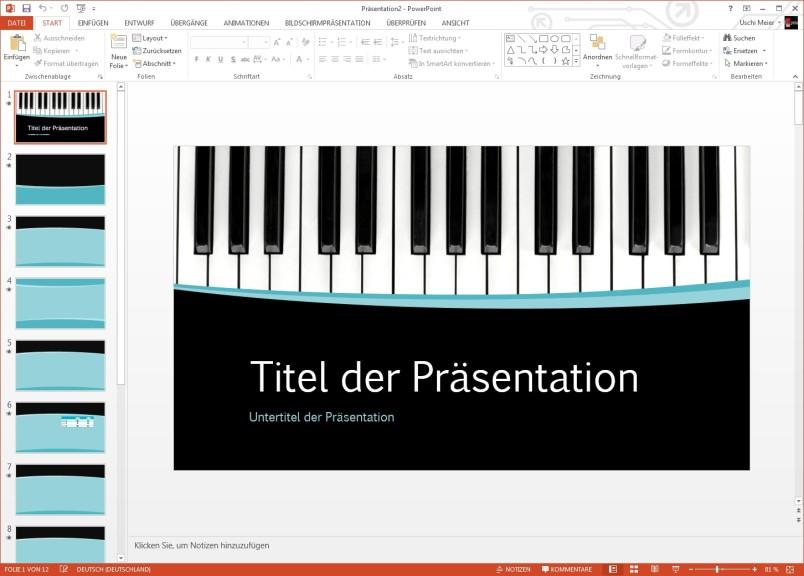 Screenshot 1 - PowerPoint-Vorlagen