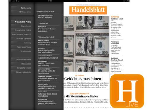 Handelsblatt Live ©Handelsblatt GmbH; Computerbild.de