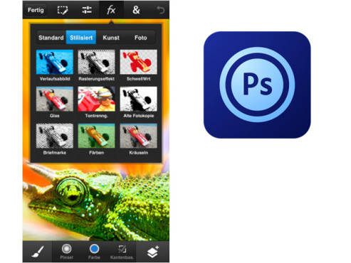 Photoshop Touch ©Adobe Systems