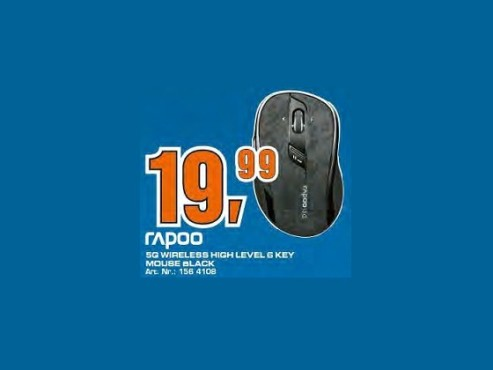 Rapoo Wireless Optical Mouse 7100p © Saturn