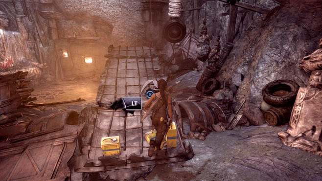 Actionspiel Tomb Raider: Wippe ©Square Enix
