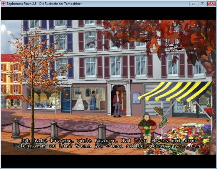 Screenshot 1 - Baphomets Fluch 2.5 (Broken Sword)