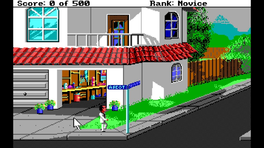 Screenshot 1 - Leisure Suit Larry 2: Goes looking for Love in Several Wrong Places