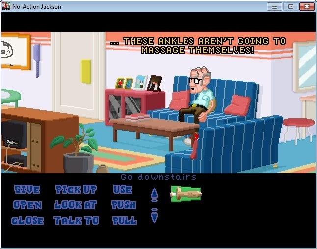 Screenshot 1 - No-Action Jackson