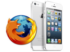 Firefox und iPhone 5 © Mozilla, Apple