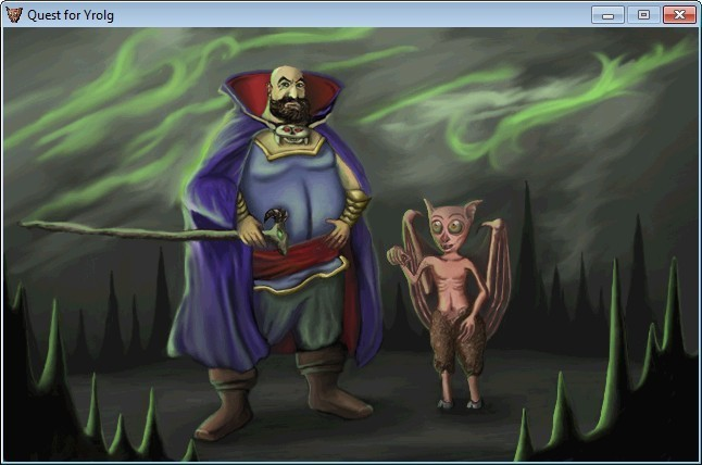 Screenshot 1 - Quest for Yrolg
