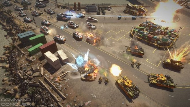 Strategiespiel Command & Conquer: Straße © Electronic Arts
