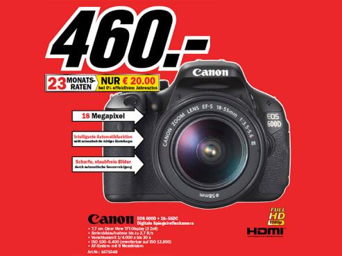 Canon Eos 7d Bei Media Markt Powermall
