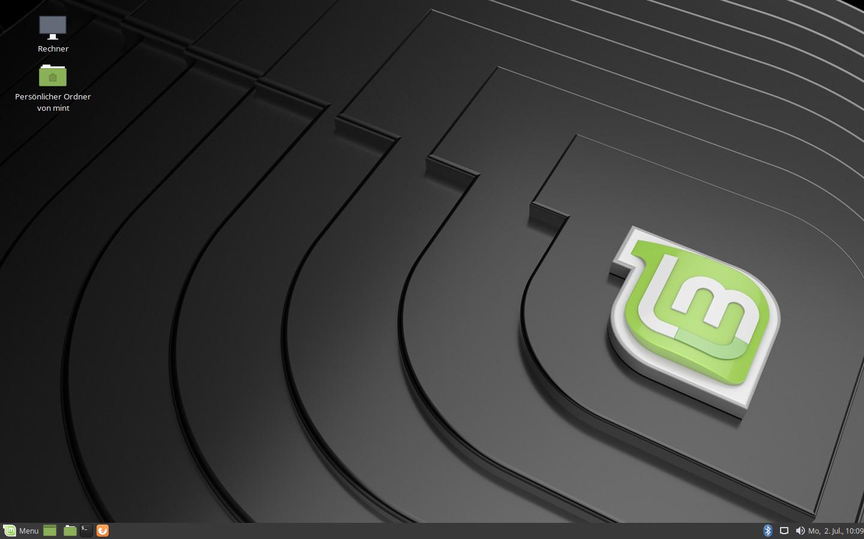 Screenshot 1 - Linux Mint Tricia MATE (32 Bit)