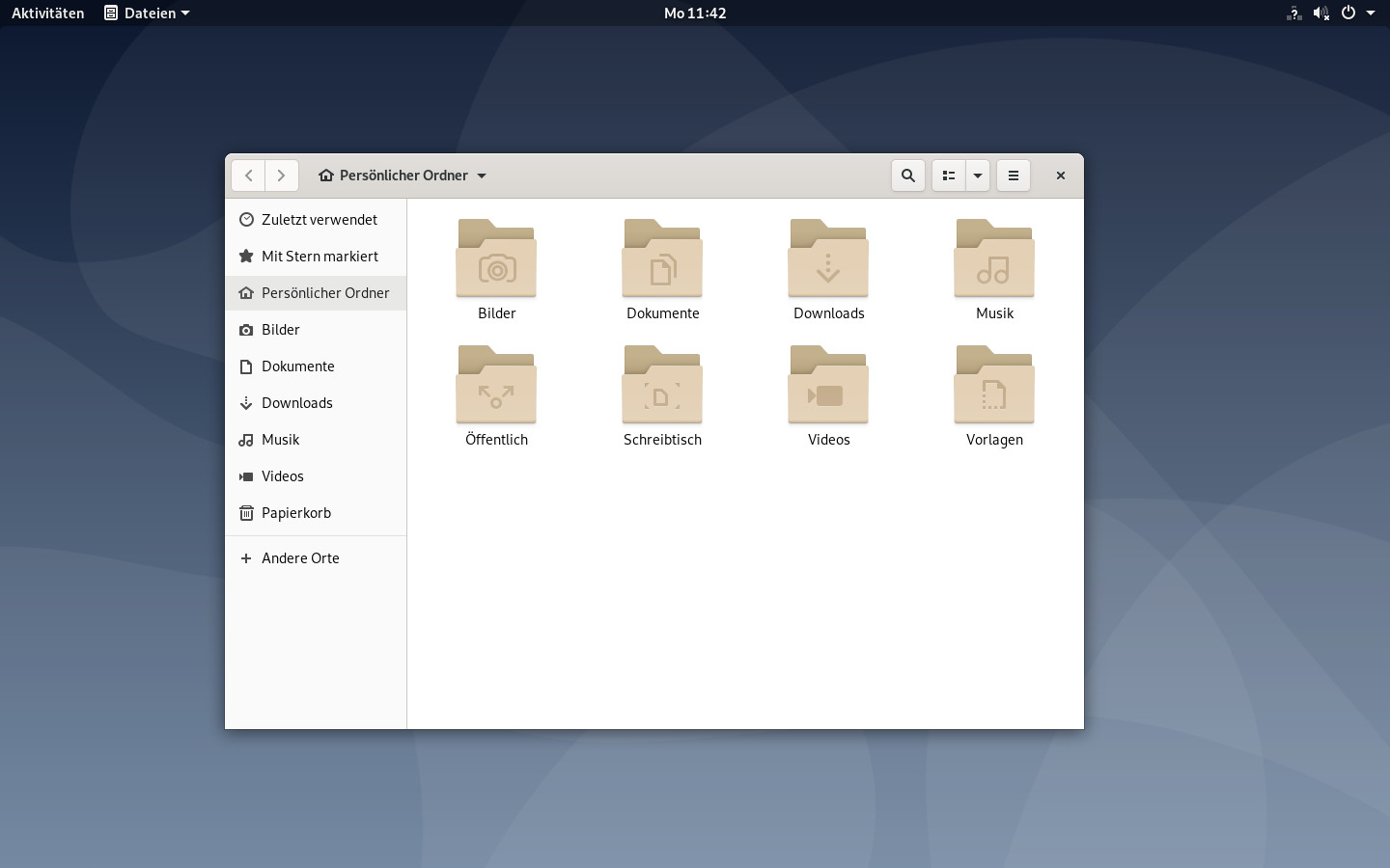 Screenshot 1 - Debian