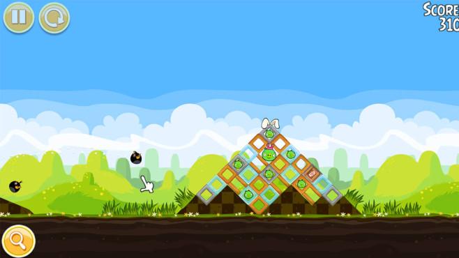 Kostenlose Oster-Downloads: Die perfekte Programmsammlung für die Feiertage Zu allen wichtigen Anlässen, auch Ostern, bietet Angry Birds Seasons einen Abschnitt.©COMPUTER BILD
