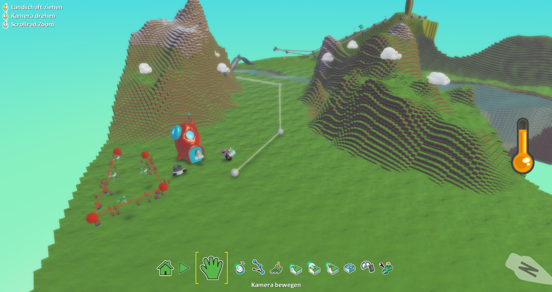 Screenshot 1 - Kodu Game Lab