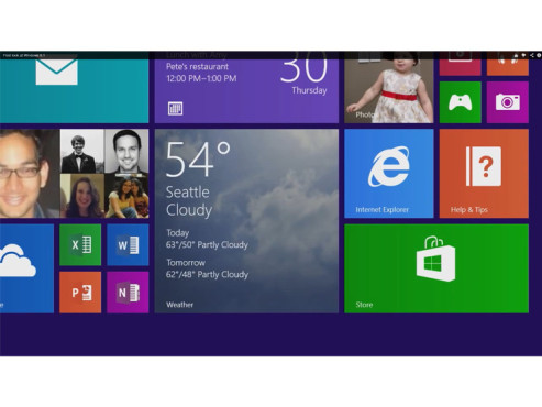 Microsoft Windows 8.1: Alle Apps © COMPUTER BILD