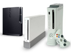 Hardware Konsolen-Trio©Sony, Nintendo, Microsoft