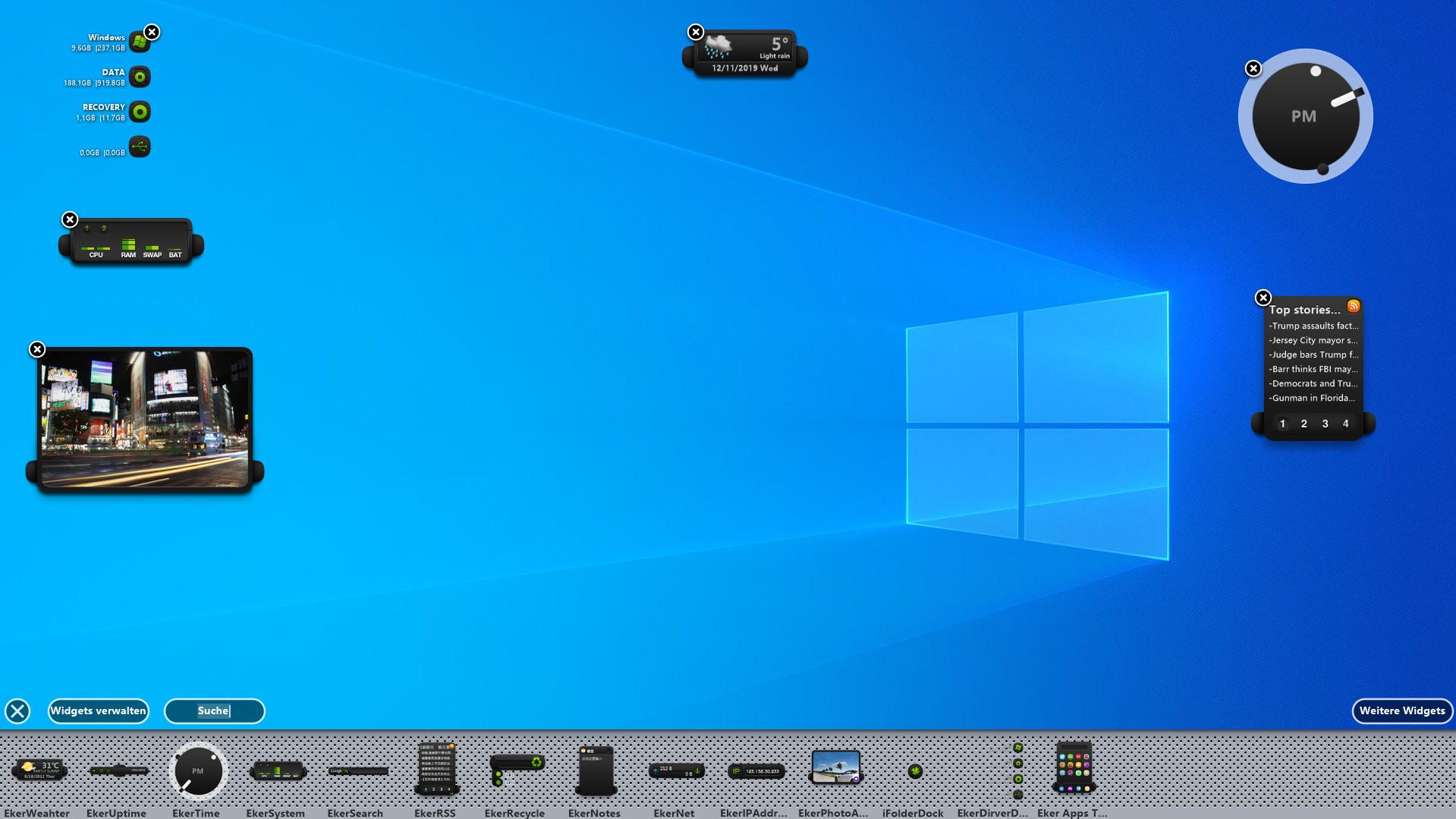 Screenshot 1 - XWidget