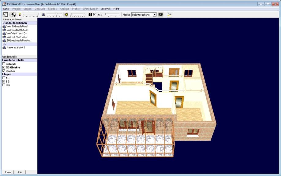 Screenshot 1 - Mein Heim 3D