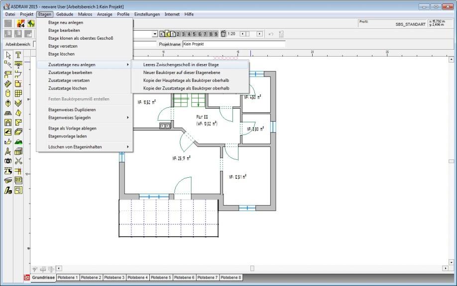 Raumplanung freeware gallery of screenshot autodesk for Software raumplanung