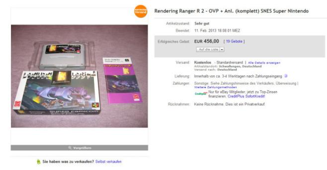 rendering ranger ©ebay