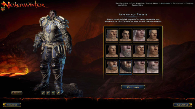Online-Rollenspiel Dungeons & Dragons – Neverwinter: Figur © Cryptic