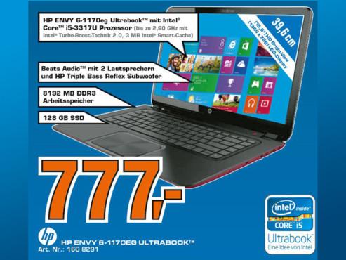 Hewlett-Packard HP Envy 6-1170eg ©Saturn