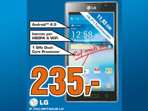 LG Optimus L9 ©Saturn