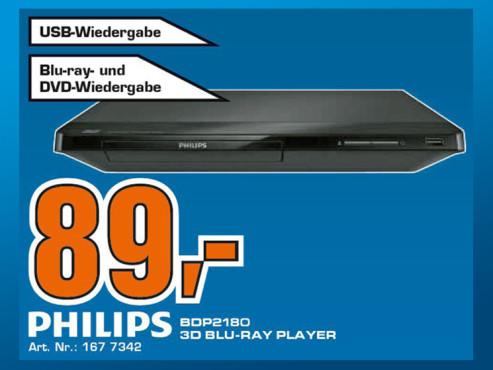 Philips BDP2180/12 ©Saturn