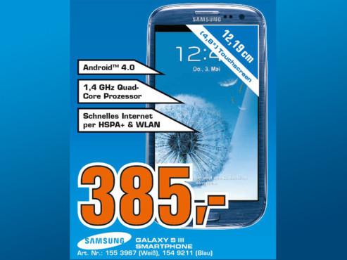 Samsung Galaxy S3 16GB ©Saturn