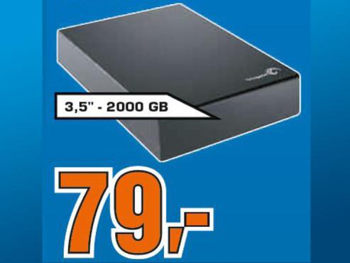 Seagate Expansion Desktop USB 3.0 2TB ©Saturn