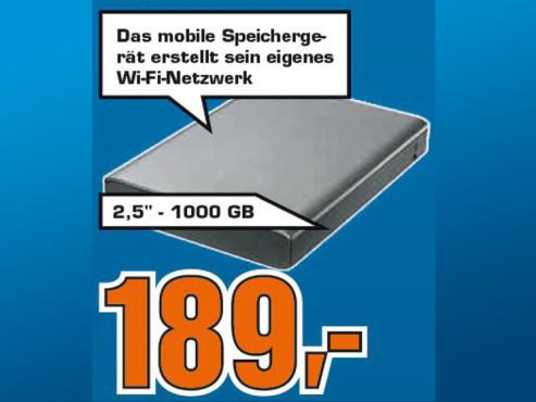 Seagate Wireless Plus 1TB ©Saturn