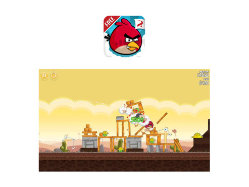 Angry Birds ©Rovio Mobile Ltd.