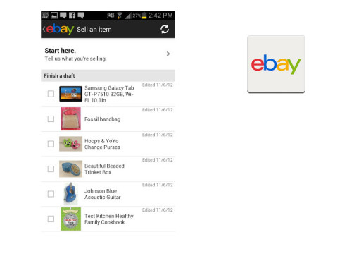 Ebay Mobile ©Ebay Inc.