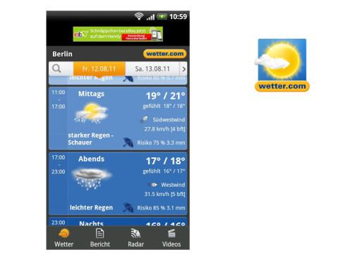 Wetter.com ©Wetter.com AG