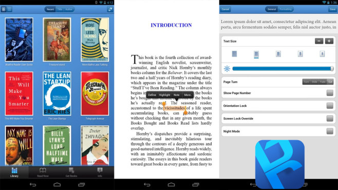 Bluefire Reader ©Bluefire Productions