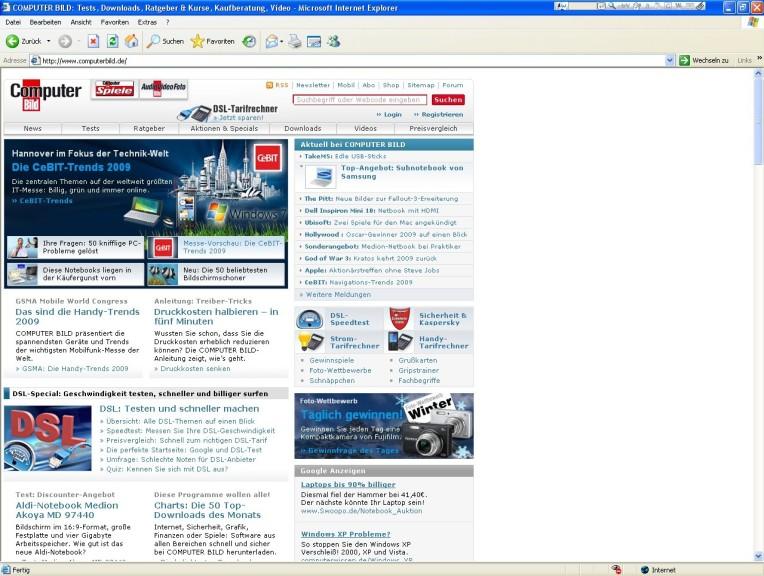 Screenshot 1 - Webtip Titlebar