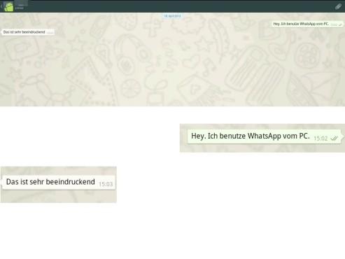 WhatsApp am Computer nutzen ©COMPUTER BILD
