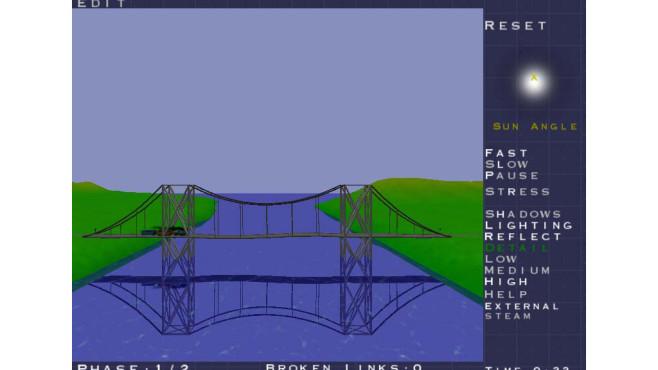 Bridge Construction Set ©Chronic Logic