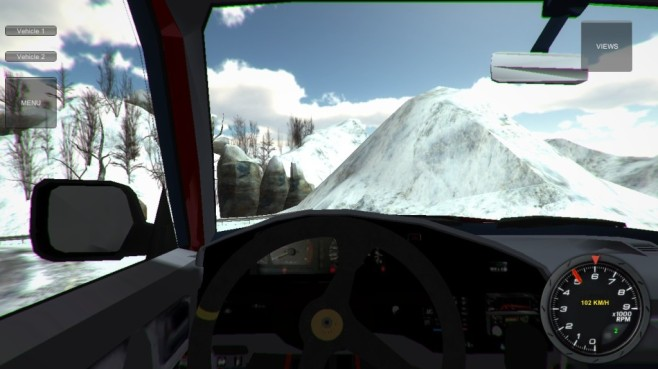Car Simulator 3D: Schnee © Falco Software