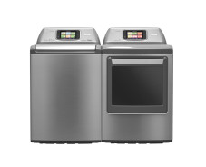 E-Home: LG arbeitet an wasserloser Waschmaschine mit WLAN Smart im Haushalt: Zukünftig können Nutzer LG-Waschmaschinen per Smartphone bedienen.©LG