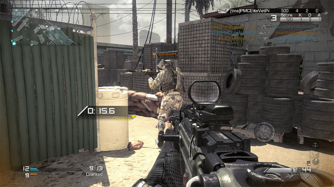 Actionspiel Call of Duty – Ghosts: Cranked © Activision Blizzard