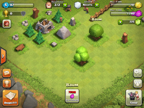 Clash of Clans: Baum © Supercell
