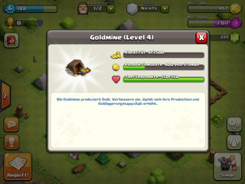 Clash of Clans: Lager ©Supercell