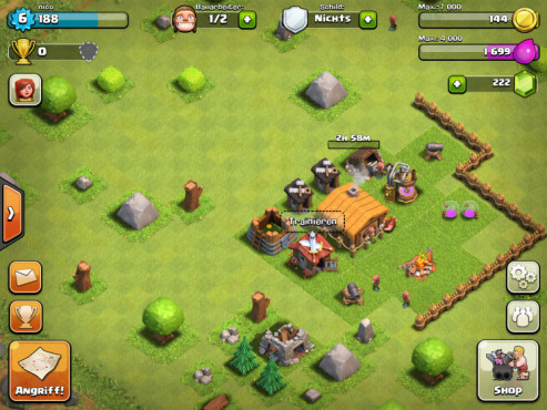 Clash of Clans: Rathaus ©Supercell