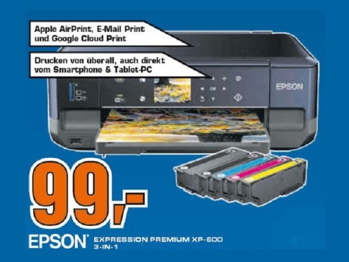 Epson Expression Premium XP-600 © Saturn