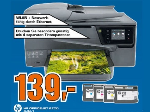 HP Office Jet 6700 E AIO © Saturn