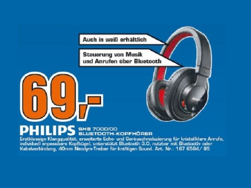 Philips SHB 7000WT © Saturn