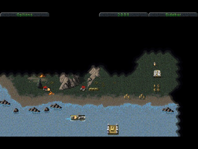 Screenshot 1 - Command & Conquer: Tiberian Dawn (Tiberiumkonflikt)