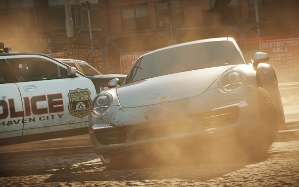 Need for Speed – Most Wanted: Porsche ©Electronic Arts